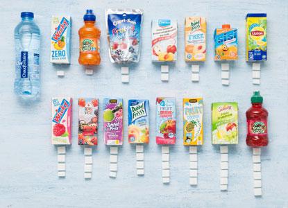 Hoeveel suikerklontjes laat ik mijn kind drinken?