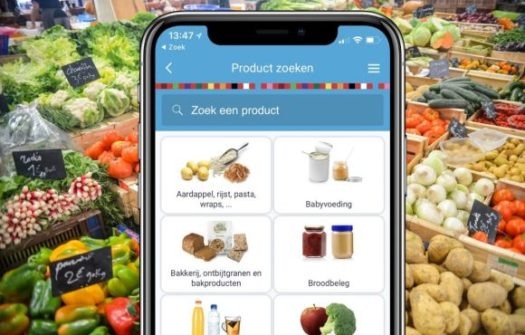 Gezond en slim boodschappen doen met behulp van gratis app
